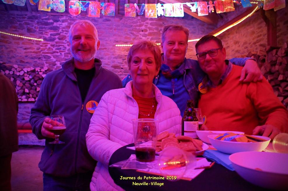 Journées du Patrimoine @Neuville-Village sept 2019